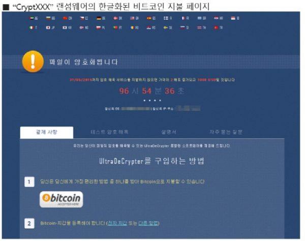 '뽐뿌' 커뮤니티서 '크립트XXX' 한글버전 랜섬웨어 유포 '비상'