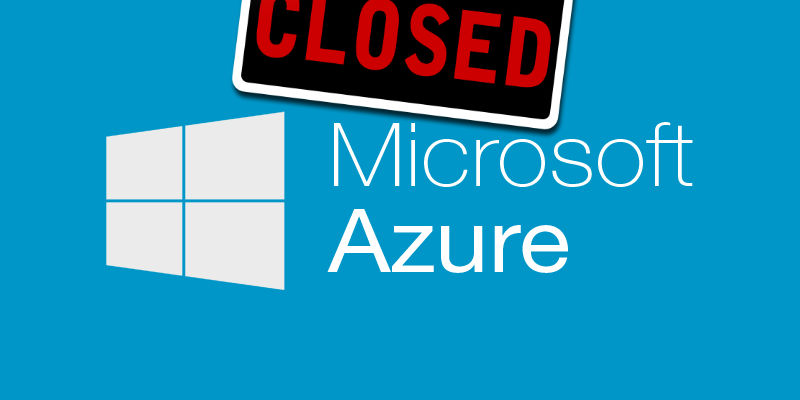 마이크로소프트 애저는 추석 연휴에 왜 멈추었나