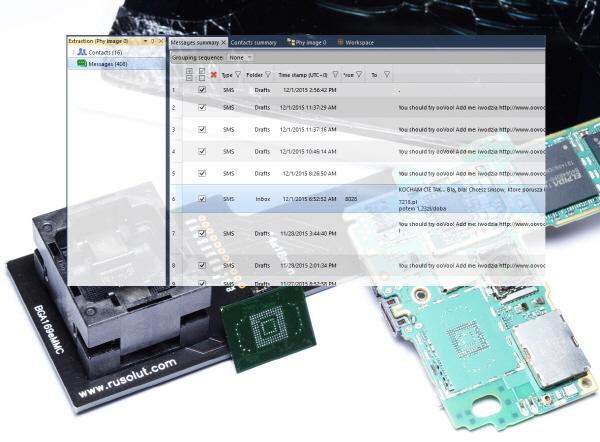 """""""'메모리칩'만으로 망가진 USB·스마트폰 데이터 단시간에 복구, 포렌식 분석"""""""