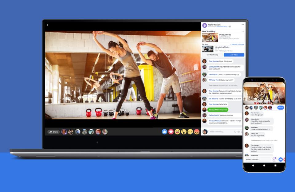 페이스북 또다른 라이브 '함께 시청하기' 출시, 이것은 온라인 시사회