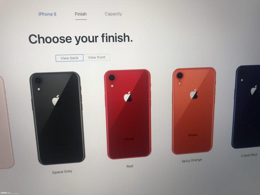 아이폰9 사이트 유출, USB-C, 오렌지·네이비 컬러, 진짜일까?