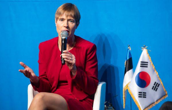 """에스토니아 대통령 방한, """"100유로로 전자영주권 발급하면 EU 법인 설립 가능해"""""""