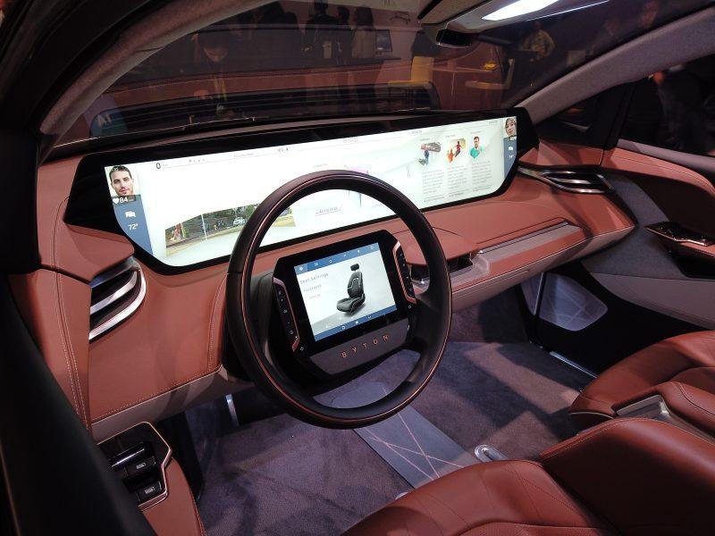 [CES 2019] 차량도 UX를 고려하는 전자제품 시대, 바이톤