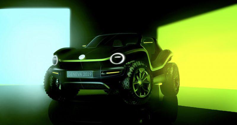 폭스바겐의 새 전기차 콘셉트는 버기 카