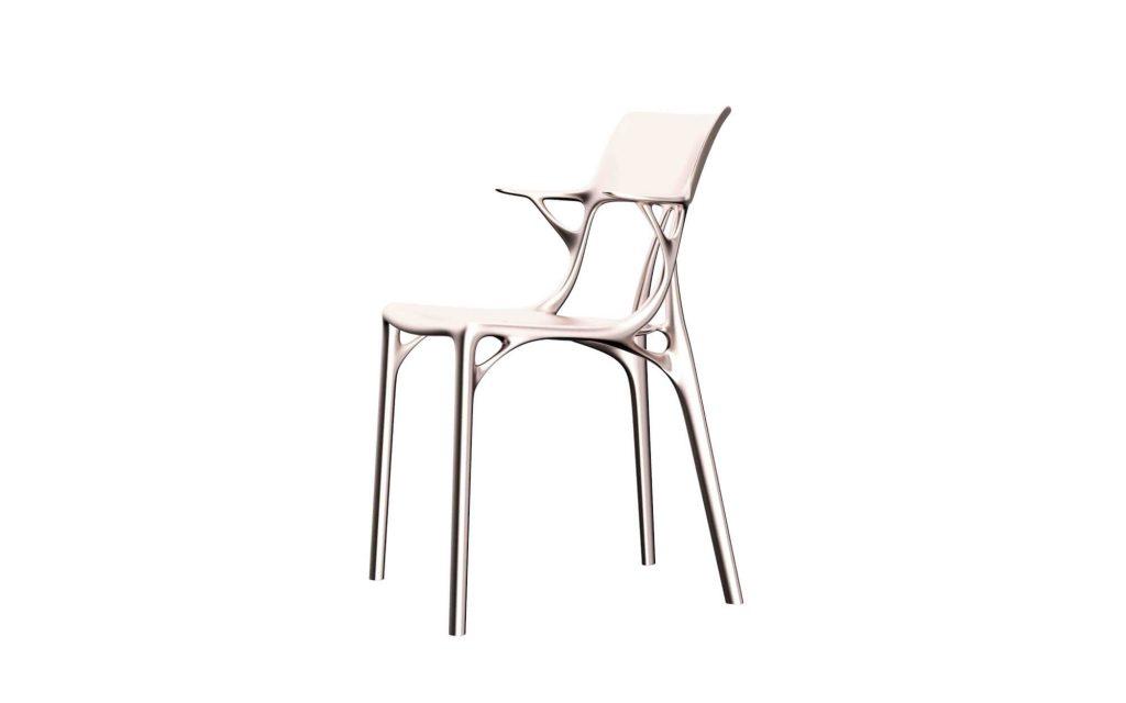 필립 스탁과 AI가 만든 2019년의 의자
