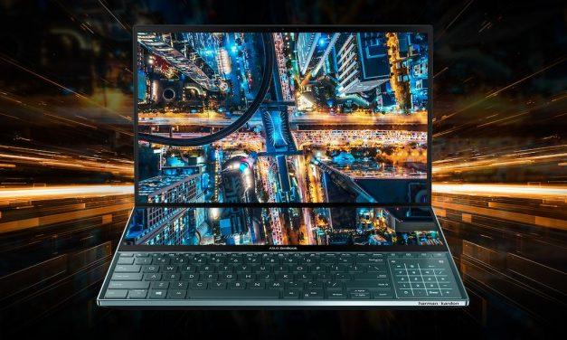 노트북 하판의 혁명, 하판 스크린 탑재 에이수스 젠북 프로 듀오