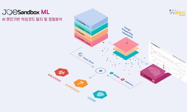 인섹시큐리티, AI 기반 '조샌드박스 ML' 출시…악성코드 동적 분석 한계 보완