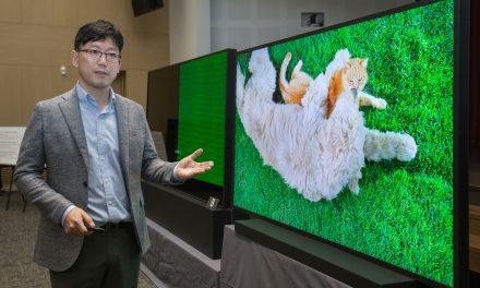 LG vs. 삼성 8K TV 디스전 홀리십 드랍더빗 – 삼성편