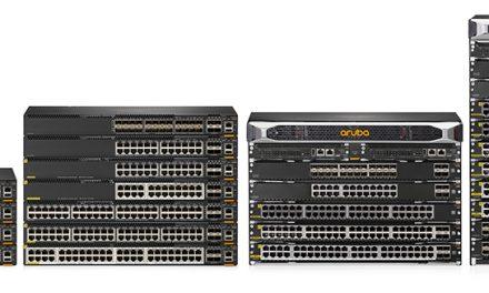 """아루바 """"네트워크 엣지부터 코어까지 단일OS로 운영 간소화, CX 스위치 제품군 완성"""""""