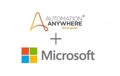 마이크로소프트 애저에서 오토메이션애니웨어 RPA 플랫폼 쓸 수 있다