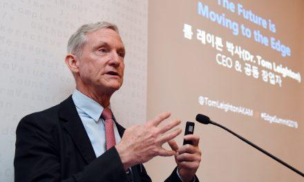 """아카마이 CEO """"5G 시대 데이터 트래픽 증가로 인한 문제, '엣지 플랫폼'이 해결"""""""