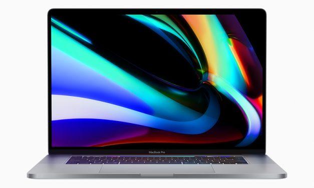 ESC 키 포함 키보드 크게 개선한 맥북 16형 등장
