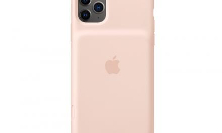 카메라 셔터 버튼을 넣은 아이폰 11 공식 배터리 케이스 등장