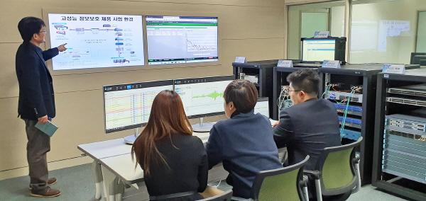 100G급 고성능 정보보호 제품 시험 환경 마련됐다
