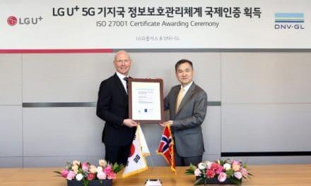 LG유플러스, 5G 기지국 운영관리 분야 국제표준 정보보호 인증 획득