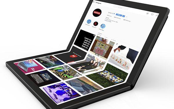 [CES2020] 노트북의 새 국면, 폴더블 랩톱 레노버 씽크패드 X1 폴드