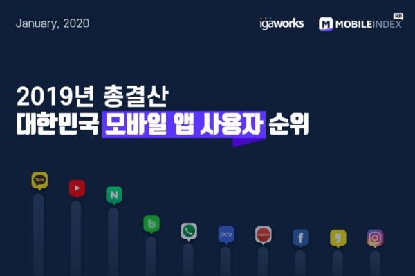2019년 분야별 최고의 모바일 앱은?