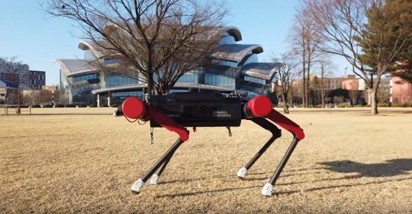 [바스리] 한국의 사족보행 물류로봇을 만나다