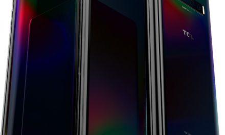 TCL의 두번 접는 폴더블, 펼치는 폴더블 콘셉트 폰 실물