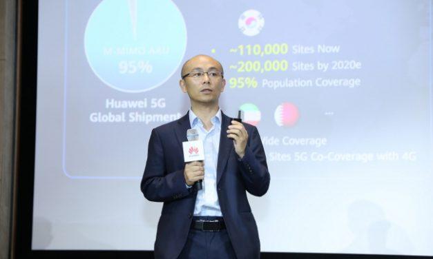"""화웨이 """"5G 시대, 간소화된 융합 네트워크 구축해야"""""""