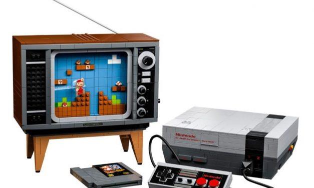 레고로 만드는 패미컴 NES 버전 8월 1일 출시
