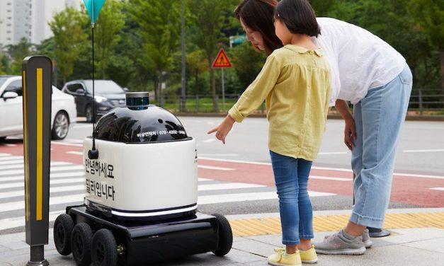 배민 음식배달 로봇, 길거리에서 만날 수 있다