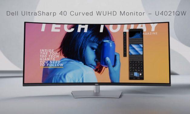 프로 디스플레이 XDR 대안, 델 40인치 울트라와이드 모니터