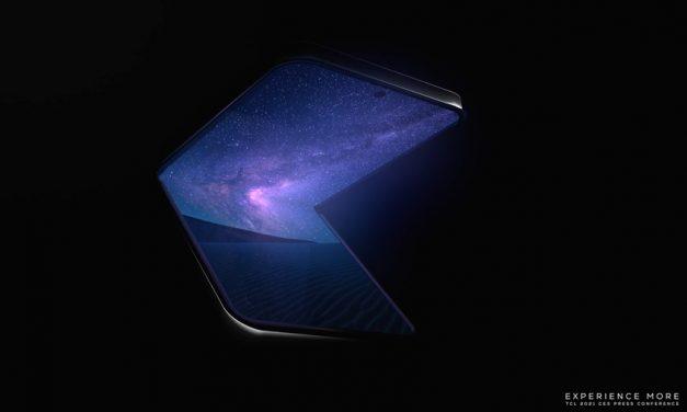 [CES 2021] TCL 롤러블 스마트폰과 어명 디스플레이