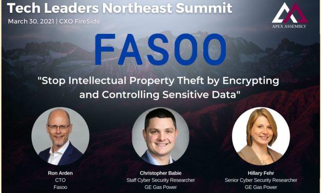 파수, 미국 에이펙스 행사에서 GE와 'IP 보호 위한 데이터 보안' 발표