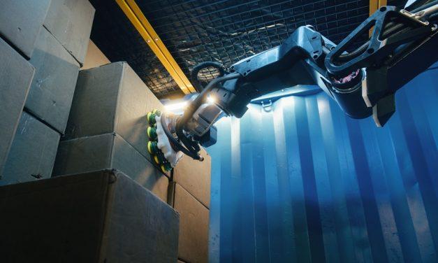 물건 들고 이동하는 공장용 로봇 팔, 보스턴 다이내믹스 스트레치