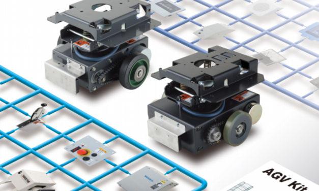 물류·유통센터 AGV 도입, 'DIY 프라모델'로 체험부터 해보자