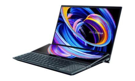 OLED 노트북 시대, 화면이 두개인 젠북 프로 듀오 15 올레드 출시